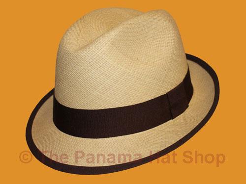 VINTAGE TRILBY PANAMA STRAW HAT | eBay